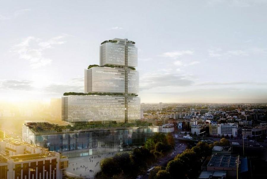 Modernité, fluidité et lumière pour le futur Palais de justice de Paris
